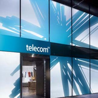 Telecom NZ Rebranding